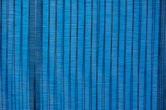 Blue awning Royalty Free Stock Image