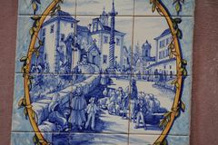 Free Blue Azulejos On The Buildings In Lisbon, Portugal Royalty Free Stock Photography - 108100097