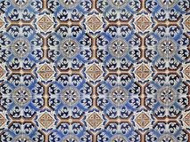 Blue Azulejos Porto. Small earthenware tiles painted and hand-decorated, the Azulejos is an ancient art in Portugal. It serves as decoration (inside and outside Stock Image