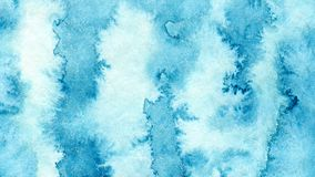 Blue azure abstract watercolor background for textures backgrounds and web banners design.  vector illustration