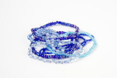 Blue azure bracelet Royalty Free Stock Photography