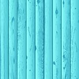 Blue azure wood texture background Stock Photography