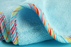 Blue Baby Blanket Royalty Free Stock Image