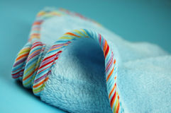 Blue Baby Blanket Royalty Free Stock Images