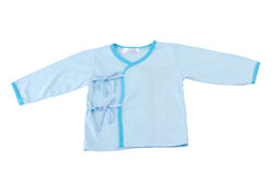 Blue baby cloth Royalty Free Stock Photography