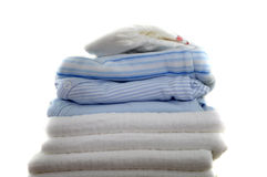Blue Baby Clothes Royalty Free Stock Photo