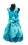 blue baby dress Royalty Free Stock Image