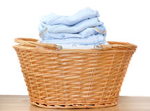 Blue Baby Laundry royalty free stock images