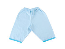 Blue baby pant Stock Photo