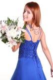 Blue back Stock Images