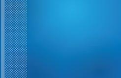 Blue backdrop letterhead Royalty Free Stock Photo