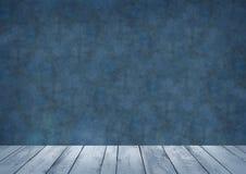 Blue backdrop for photo studio, background, wallpaper stock illustration