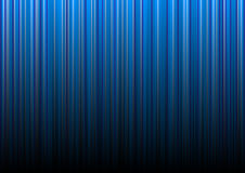 Blue background. As gradient lines Stock Image