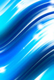 Blue background. Wave blue background with shine Royalty Free Stock Image