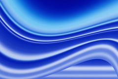 Blue background. Blue tone abstract waves background Stock Photography