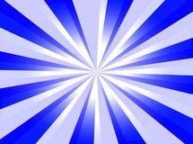 Blue Background. A blue background with starburst and light royalty free illustration