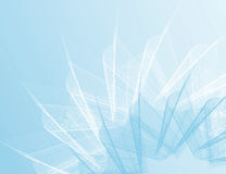 Blue background. Vector fractal blue striped backgrop Royalty Free Stock Photography