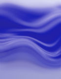 Blue background. Waves Stock Images