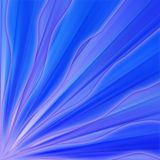 Blue background. With a wave starting from the left corner royalty free illustration