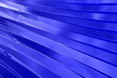 Blue background. Blue perspective stripes available for background or wallpaper Royalty Free Stock Photo