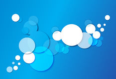 Blue background. An illustrator vector graphics for backgrounds Stock Photography
