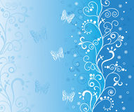 Blue background. Royalty Free Stock Photography