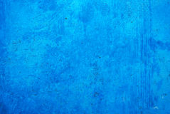 Blue background. Texture background of blue wall Stock Photography