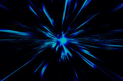 Blue  background. Abstract blue  color background with motion blur Stock Photo