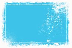Blue Background. Abstract blue background, the concept of frame royalty free illustration
