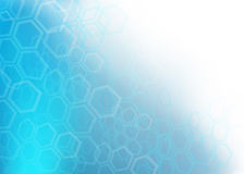 Abstract Blue medical background Royalty Free Stock Image