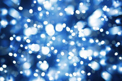 Blue background. Abstract blue background with particles Stock Photography