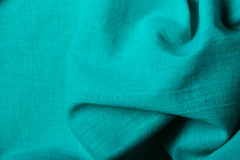 Blue background abstract wavy folds cloth Royalty Free Stock Photos