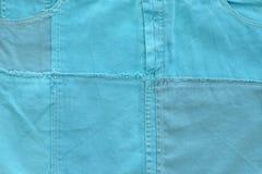 Blue background for baby boy. Horizontal image Stock Image