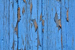 Blue wood texture. Old wood texture. Royalty Free Stock Image