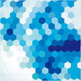 Blue background with cell Royalty Free Stock Photography