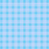 Checkered pattern of blue and white stripes. royalty free illustration