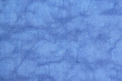 Blue Background of Cloth bag. Stock Image