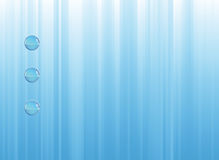 Blue background composition Stock Images