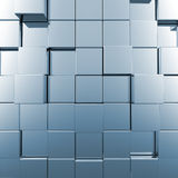 Blue background. 3d render image Stock Image