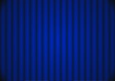 Blue background - cdr format. Dark blue curtain background lighted in center royalty free illustration