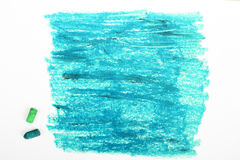 Blue background - drawing Stock Photography
