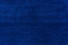 Blue background fabric for upholstered sofas and home. Furniture Stock Photo