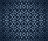 Blue background with gradient. Texture: circles on a blue background with gradient Stock Photography
