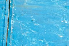 Blue background. A blue grunge paint background Royalty Free Stock Images