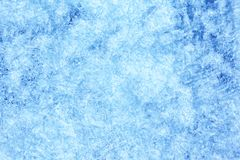 Blue background of Ice texture Stock Images