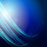 Blue background with lines Royalty Free Stock Photos