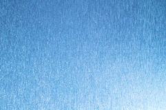 Blue background with lines and sparkles. Light on the one hand Royalty Free Stock Photography