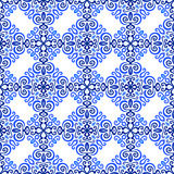 Blue Background Luxury Weave Pattern Royalty Free Stock Photography