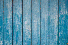 The blue background made from wood Royalty Free Stock Photo