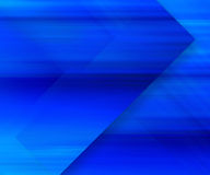Blue background with moving speed elements Stock Photos